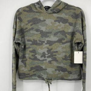 Vibe Sportswear Hooded Camouflage Sweater - XS